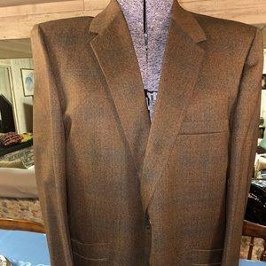 Vintage 1970s men's Suit, 44R excellent condition